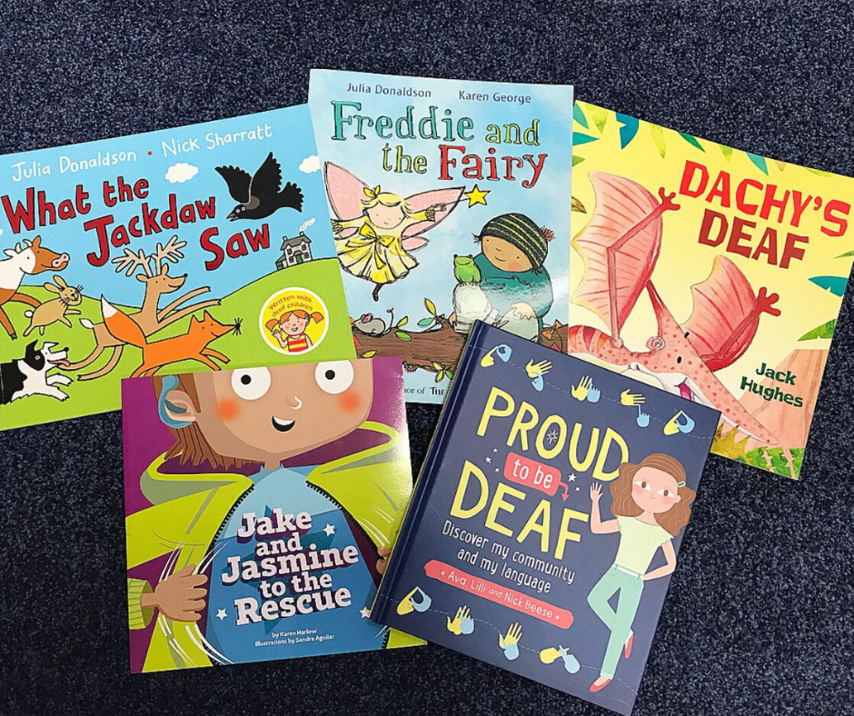 Children books which increase deaf awareness